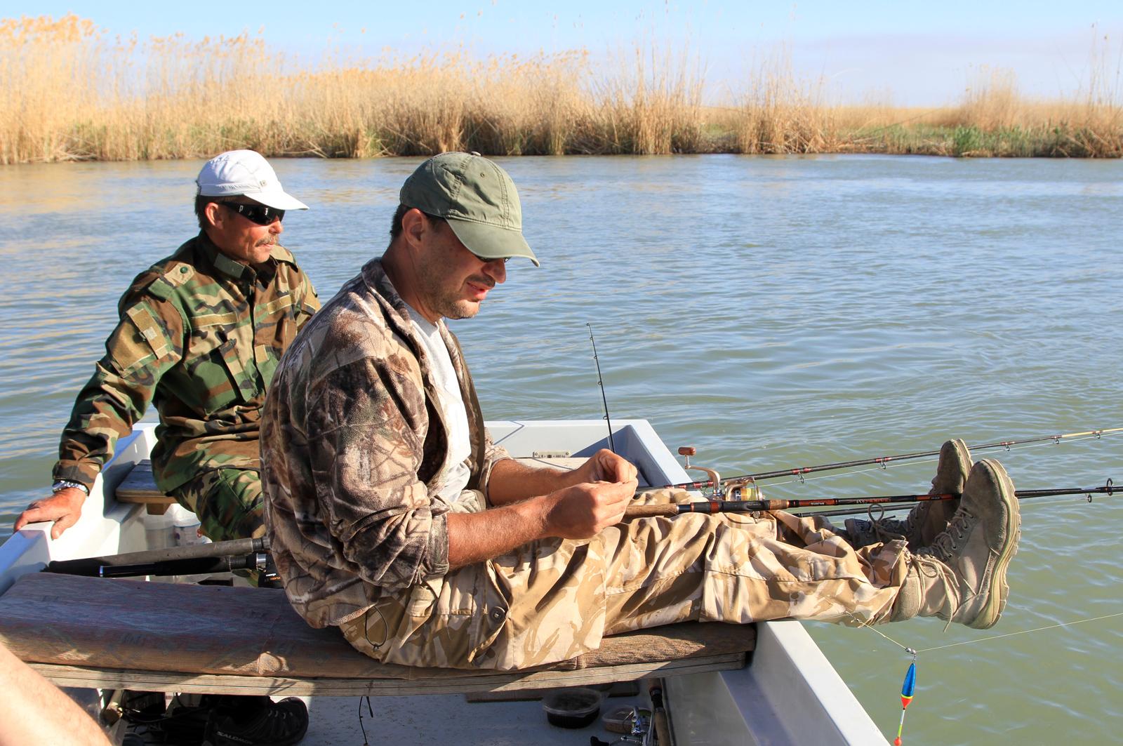 Рыбалка в казахстане когда