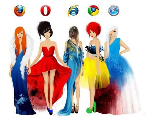 Девушки-браузеры