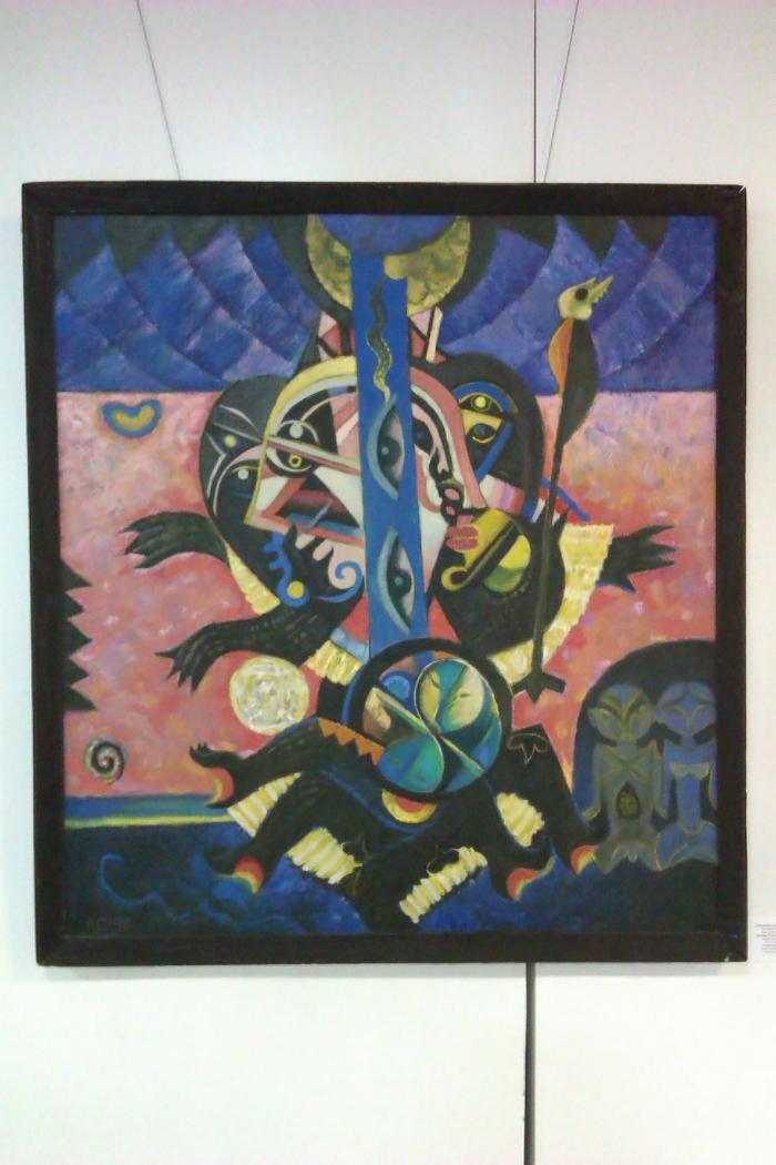 Выставка картин Анатолия Бургаева: репортаж сделан на коммуникатор:-)