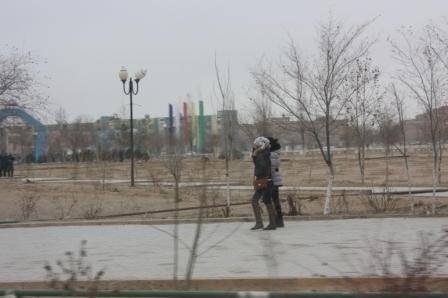 Жанаозен, город в режиме ЧП 3