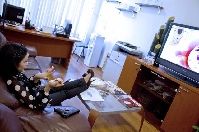 One day in office