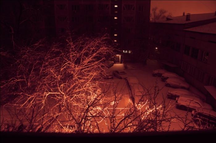 Снег. Тривиально, но по факту
