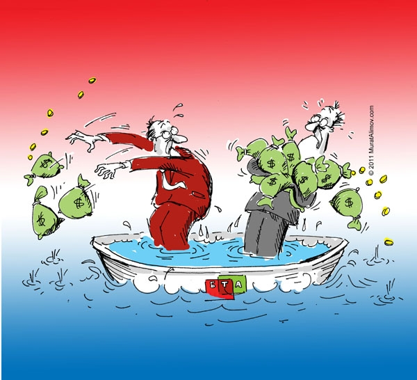 БТА банк проведет вторую реструктуризацию (карикатура)