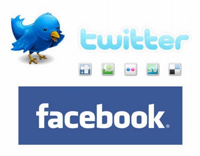 Рост Facebook и twitter в стране