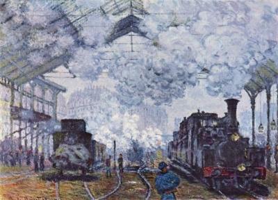 Железная дорога в искусстве: живопись и архитектура