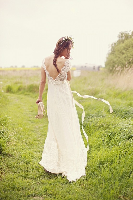 Свадебные платья 2012 в пляжном стиле