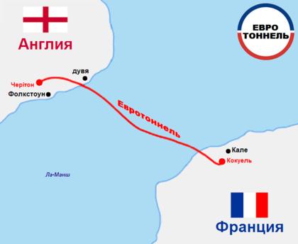Железнодорожный тоннель Ла Манш