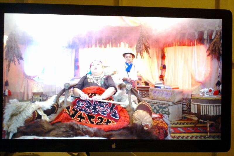 Яркие кадры из темных стен Казахфильма
