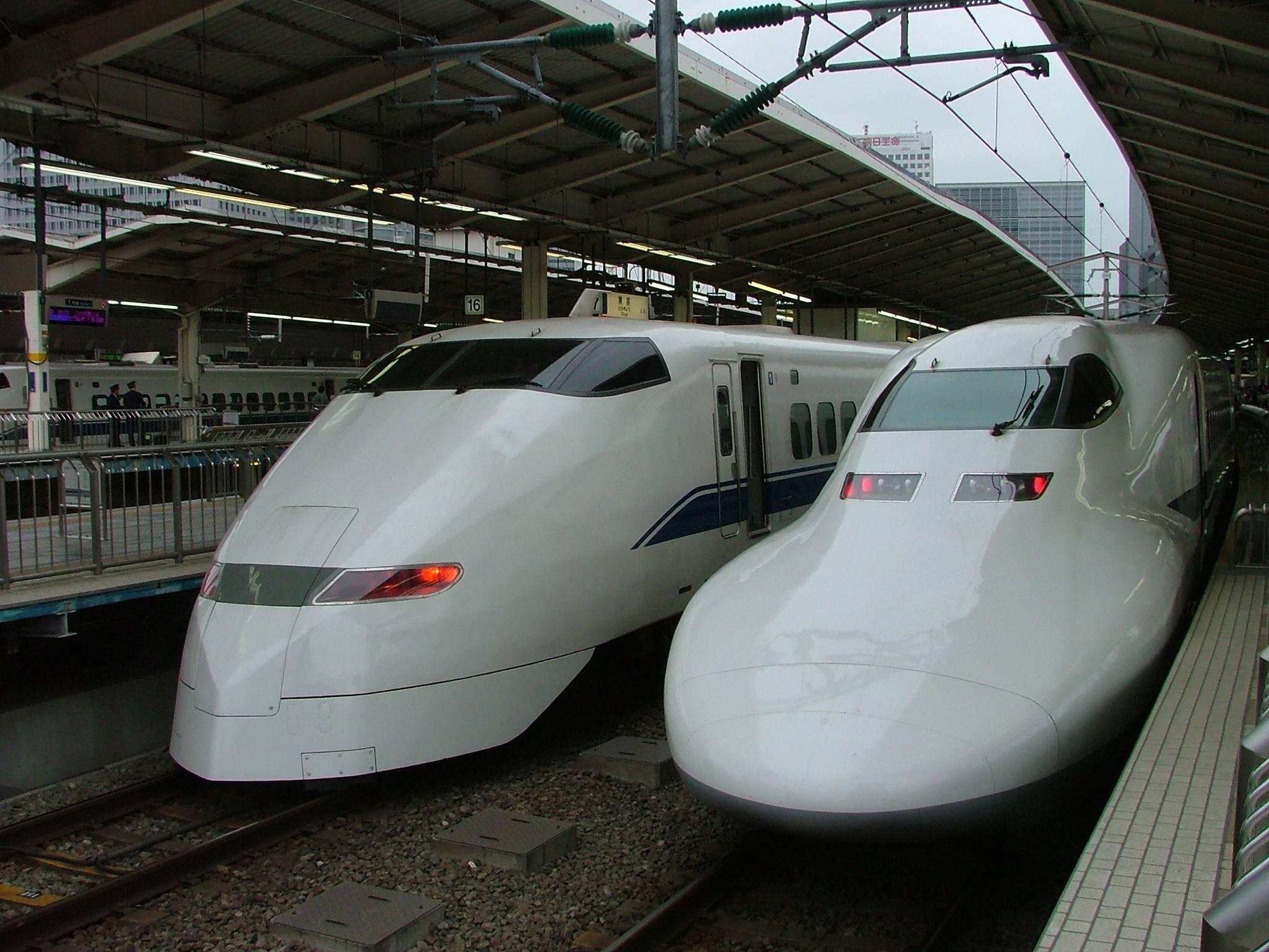 Скоростные поезда Японии
