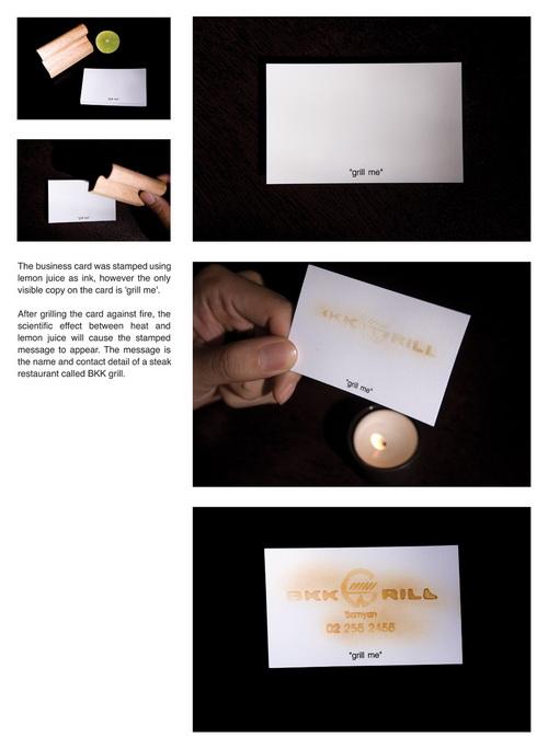Креативные визитки. История о том, как превратить 25 долларов в 10 000