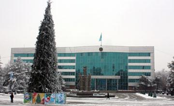 22 декабря флешмоб в Талдыкоргане