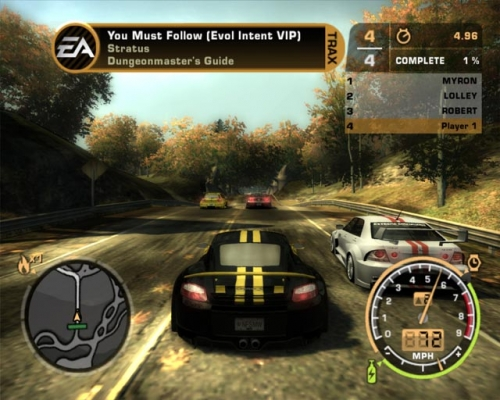 Need For Speed: Most Wanted погоняем?