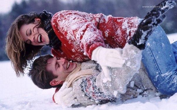 Снег и любовь картинки